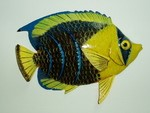 12in TROPICAL FISH WALL DECOR