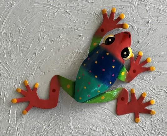 13 Ebbie Tree Frog Wall Decor Metal Frog Wall Decor [PH-A911MEBBIE ...