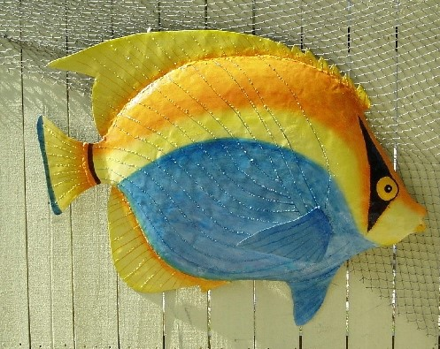 36in Metal Bandit Fish Wall Decor [PH-M393XL] - $139.99 : The ...