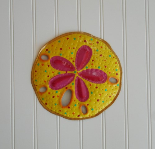 8in Yellow Sand Dollar Wall Decor [PH-M223SYW] - $15.29 : The ...