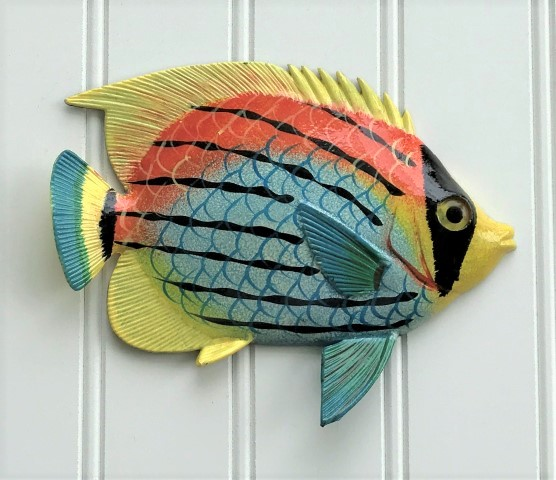 ... Tropical Fish Wall Decor Larger Image