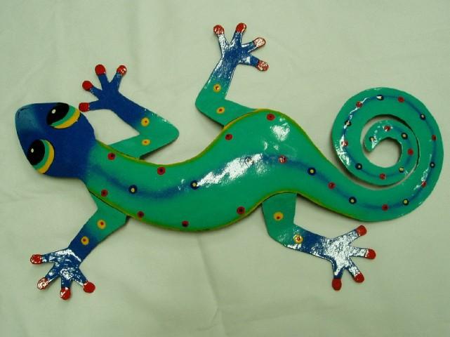 18in Ugo Gecko Wall Decor - Gecko Wall Art - Gecko Decor [PH ...